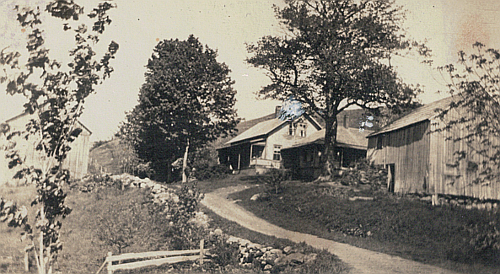 ``The old home'' South Hollow, Warren, 1949